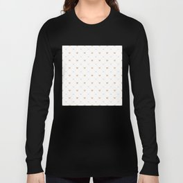 Valentine's Day Pattern   Love Heart Relationship Long Sleeve T-shirt