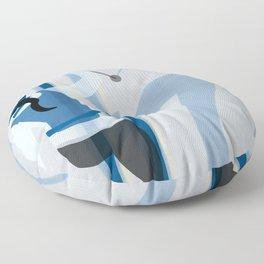 Birkebeinerrennet Birkebeiner Nordic Skiing by Dennis Weber ShreddyStudio Floor Pillow