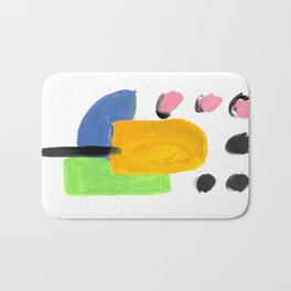 Bright Abstract Popsicle 1 Bath Mat