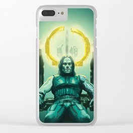 Halo (2) Clear iPhone Case