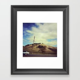 Driving Framed Art Print