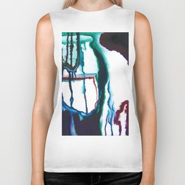 A State of Apprehension and Tension Biker Tank