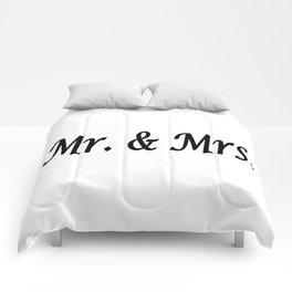 Mr. & Mrs. Comforters