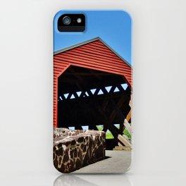 Sachs Covered Bridge 2 iPhone Case