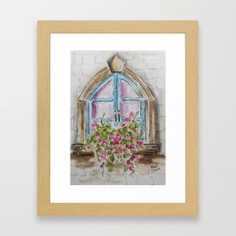 Regal Window Framed Art Print
