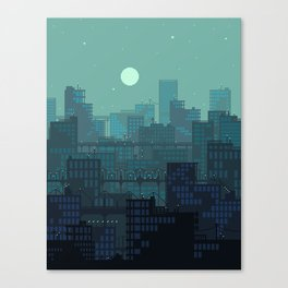 Midnight Blues Canvas Print