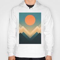 sun Hoodies featuring Inca by Picomodi