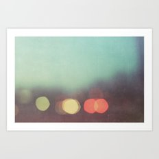 stories of the light Art Print