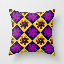 Flowers 591 Throw Pillow