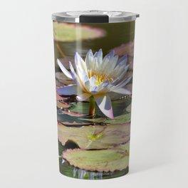 Lily At The Pond Travel Mug