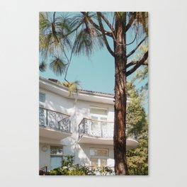White residence Canvas Print