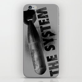 Bomb the System iPhone Skin