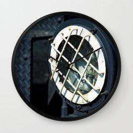 Diesel Engine Locomotive Guarded Headlight Wall Clock