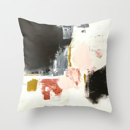 Jeanne's Song Abstract Throw Pillow