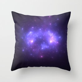 Take me back to the stars Throw Pillow