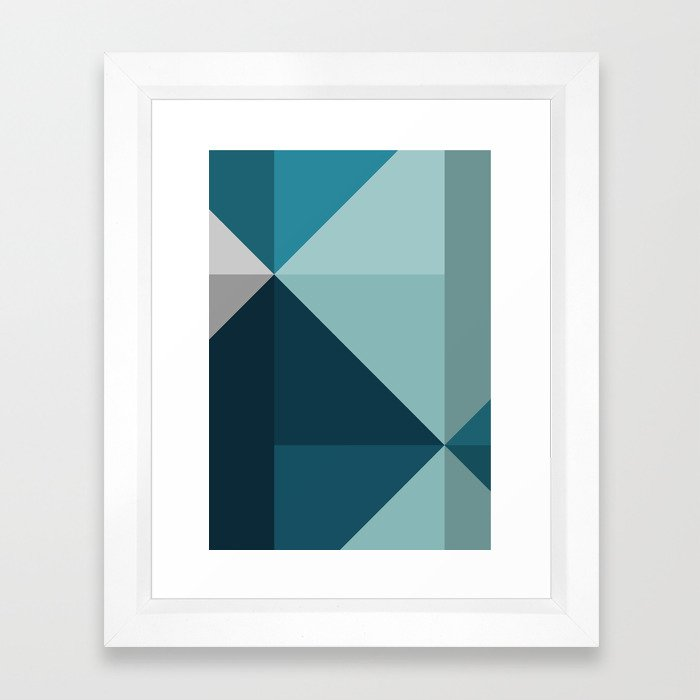 Geometric 1701 Framed Art Print