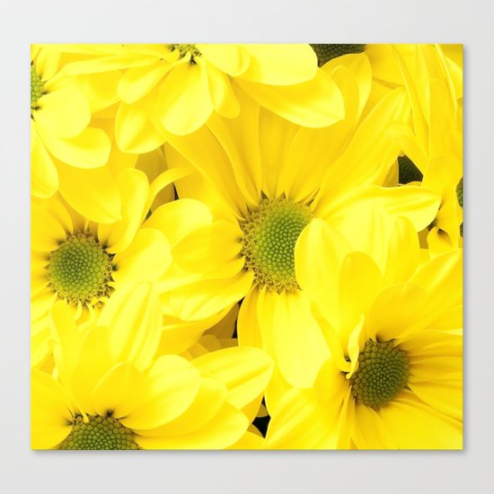 Happy Of A Flower Canvas Print