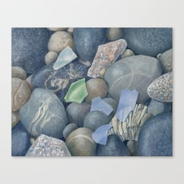 Sea Glass IV Canvas Print