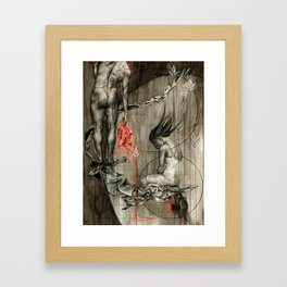 And the Head of... Framed Art Print