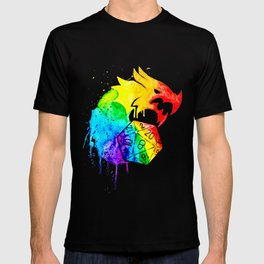 Rainbow Dragon D20 T-shirt