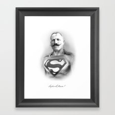SuperbMan! Framed Art Print