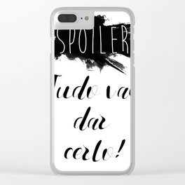 Spoiler Clear iPhone Case
