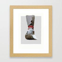 Life is like a box of chocolate Framed Art Print