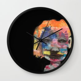 Can't wait to get to know you Wall Clock