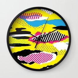 Retro Pop Wall Clock