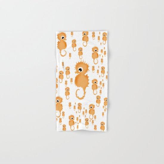 Sea horses Pattern Hand & Bath Towel