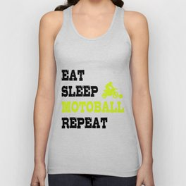 Eat Sleep Motoball Dirt Bike Gifts For Bikers Unisex Tank Top