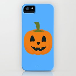 Classic Halloween pumpkin iPhone Case
