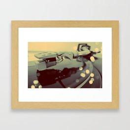 Turntablism Framed Art Print