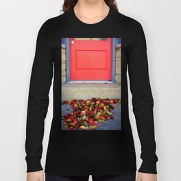 Leaves and Door Long Sleeve T-shirt