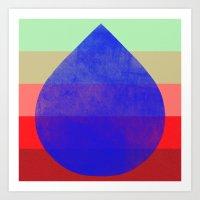 flourish 5  Art Print