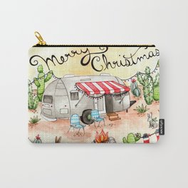 Airstream Christmas Carry-All Pouch