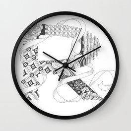 """Zenletter """"R"""" Wall Clock"""