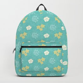 Hana Space - Yellow and Teal Backpack