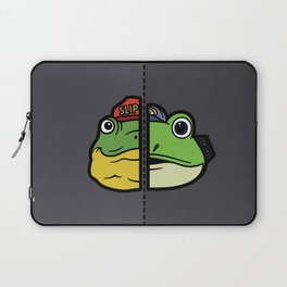 Old & New Slippy Toad Laptop Sleeve