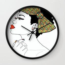 I Love My Bow Wall Clock
