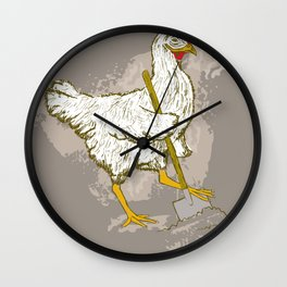 Chicks Dig Me Wall Clock