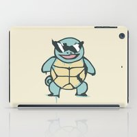 squirtle iPad Cases featuring Ash's Squirtle (Squirtle Squad Leader) by Studio Momo╰༼ ಠ益ಠ ༽