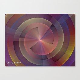 Wheel of Happiness Canvas Print