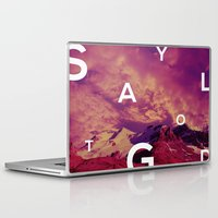 stay gold Laptop & iPad Skins featuring stay gold. by Kel B