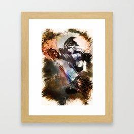 League of Legends ASHE Framed Art Print