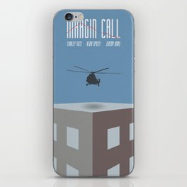 Margin Call, minimalist movie poster, Kevin Spacey, Stanley Tucci, Demi Moore iPhone Skin