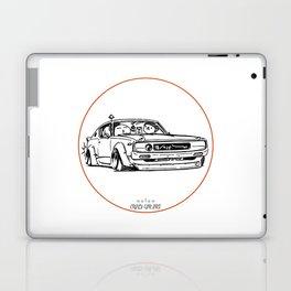 Crazy Car Art 0017 Laptop & iPad Skin