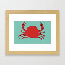 The Faceless Crab Framed Art Print