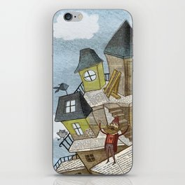 The house of secrets iPhone Skin