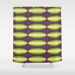 Dirigible Cucumber Shower Curtain